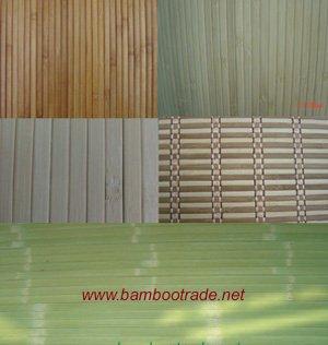 Fond d 39 cran de bambou et mur de bambou panelings papiers for Revetement mural bambou