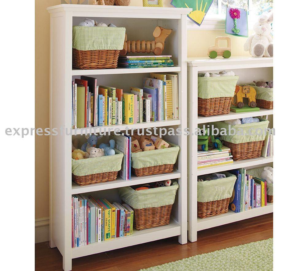Estante para libros de 4 estantes paquete de muebles para for Muebles para libros
