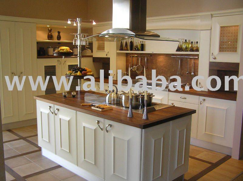 Mod le en bois sidon ak113 de cuisine meubles de cuisine for Voir des modeles de cuisine
