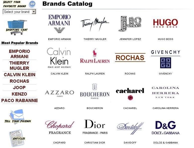 Name Logo Design Brand Names Logos Perfume