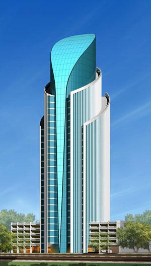 Commercial Office Tower At Business Bay Dubai - *~ Dubai Pics ~*