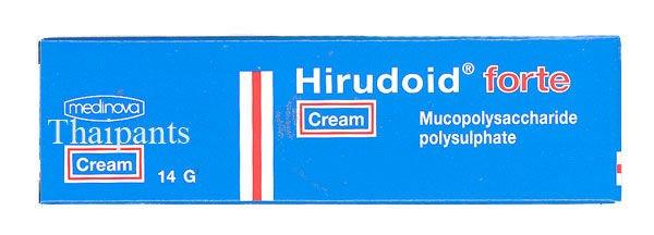 Forte Hirudoid Crema Para Haematoma Otra Fuente Del Cuidado