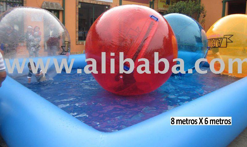 Piscinas de y albercas inflables del los dem s juguetes y for Piscinas inflables grandes