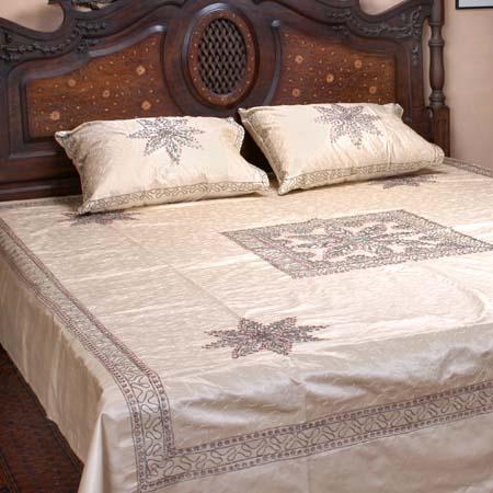 couvre lit floral unique asiatique placer plein reine literie id du produit 11787772 french. Black Bedroom Furniture Sets. Home Design Ideas