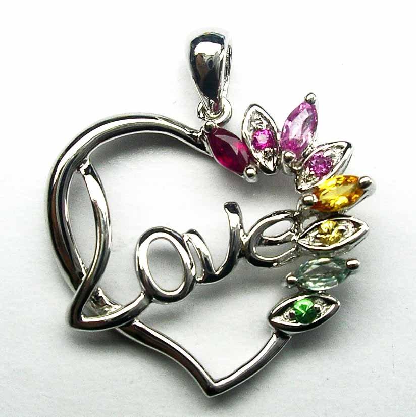 قلادات نسائية من الياقوت Multi_Sapphire_Heart_Love_Pendant.jpg