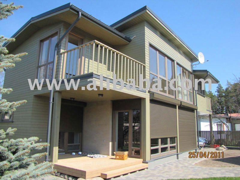 Telaio in legno prefabbricate pannello case case for Produttori case in legno prefabbricate