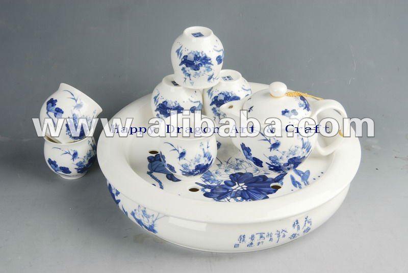 китайский голубой чай