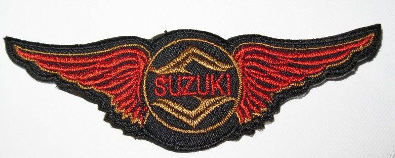 Suzuki Boulevard Patches And Emblems