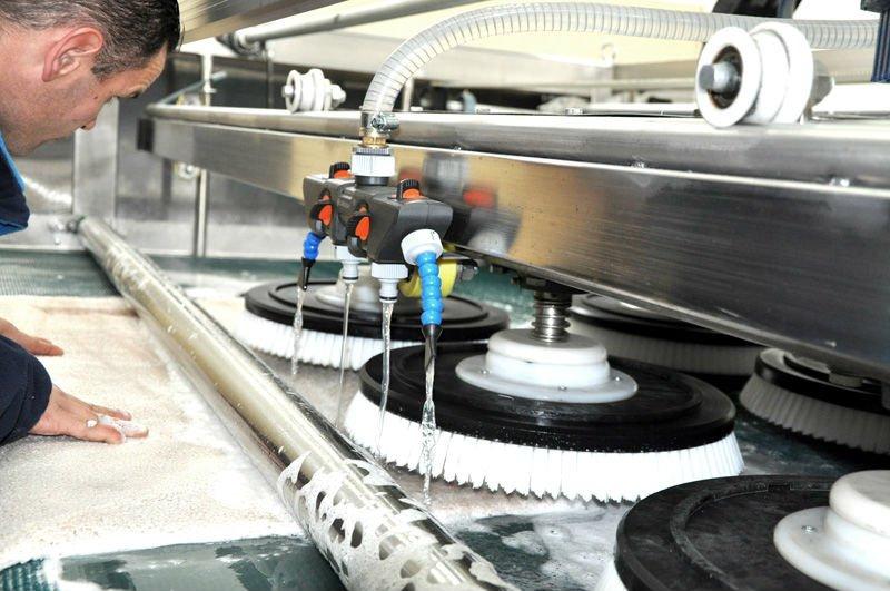 TeppichWaschmaschineIndustrielle UnterlegscheibeProdukt