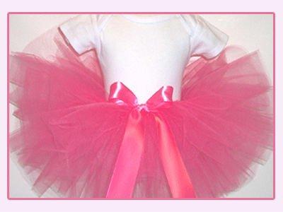 Tutu cor-de-rosa brilhante