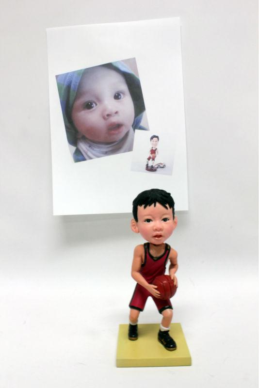 3d caricatura personalizada muñecas - spanish.