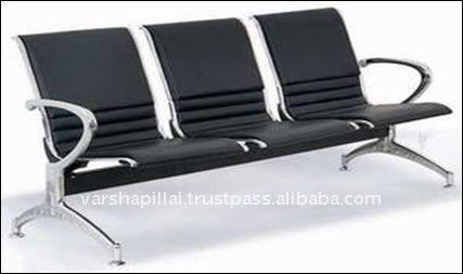 De oficina muebles de la sala sillas de metal for Muebles sala de espera