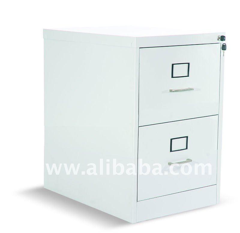 Cabinete de archivo vertical de 2 cajones con la extensi n for Muebles oficina wks