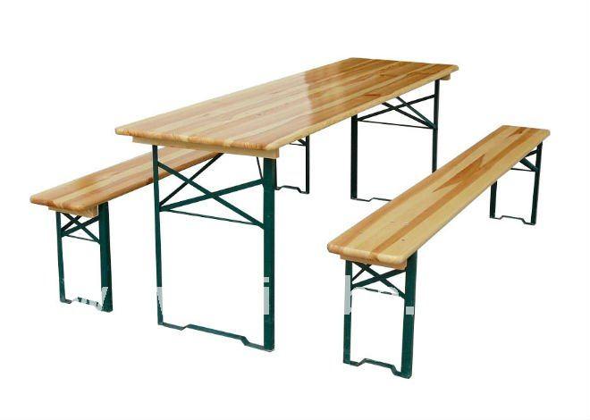 Table de jardin r sine tress e carrefour - Banc de jardin pliable ...