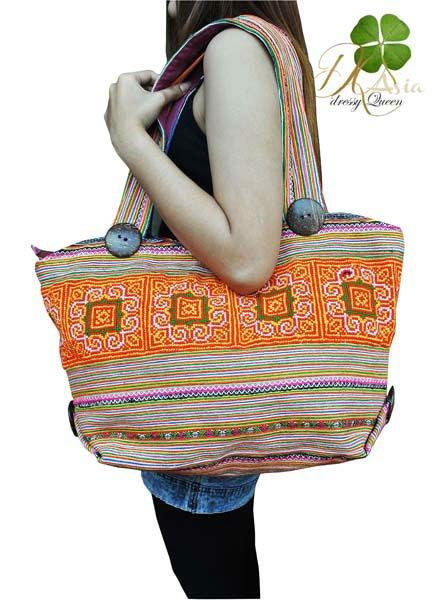 bolsos bolsos hechos a mano procedentes de tailandia-Bolsos Mano