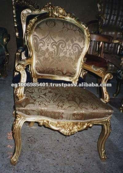 Sala De Estar Luis Xv ~  reproducciones muebles de estilo francés luis xv y barroco sillones