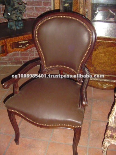 Antiguos silla de escritorio sillas de madera - Sillones estilo frances ...