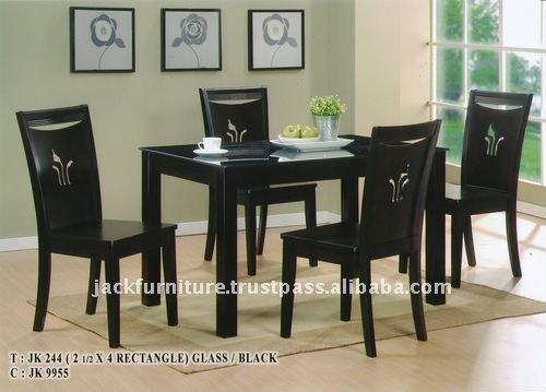 Fotos de salas y comedores modernos9 for Comedores modernos de cristal