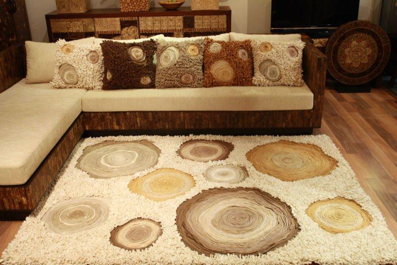 Modernas de alfombras de lujo muebles procedentes de for Muebles de tailandia