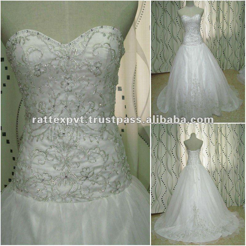 Вышивка бисером свадебных платьев схемы 74