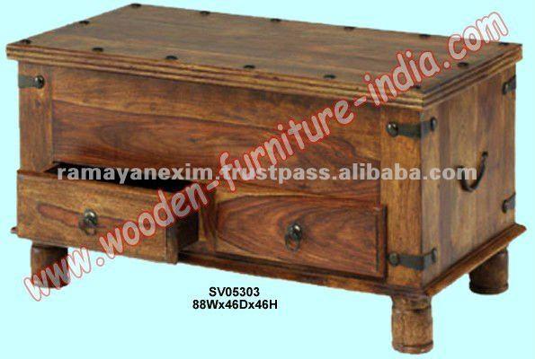 Caja Del Tronco Indio Muebles De Madera Muebles Para El Hogar Mobiliario De Sala Muebles De