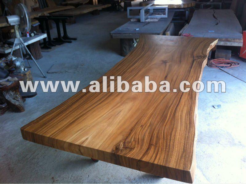 acacia massello lastra di legno 3 metro tavolo da pranzo tavolo in legno id prodotto 131337768. Black Bedroom Furniture Sets. Home Design Ideas
