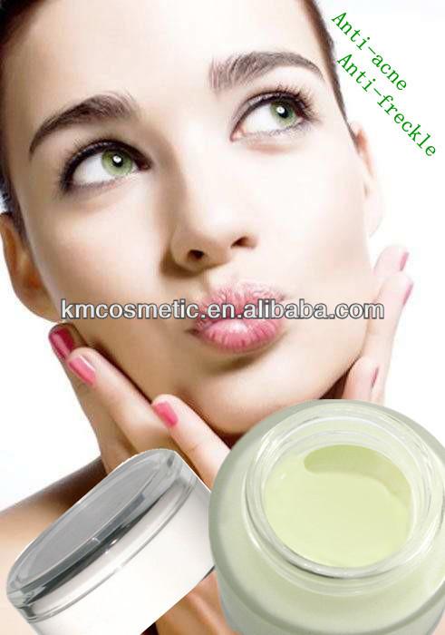 Buona crema sunblock per la persona da posti di pigmentary