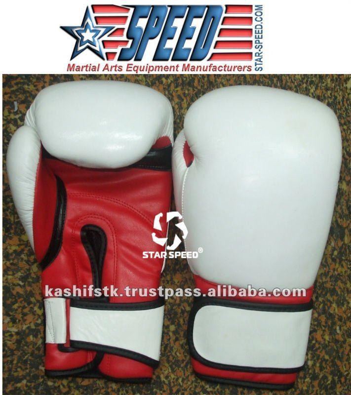 боксерские перчатки формовка натуральной кожи грант стиль боксерские