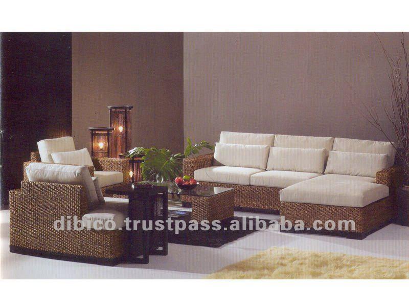 Muebles para el hogarsofá de madera nuevo diseño 2012Sofás Sala