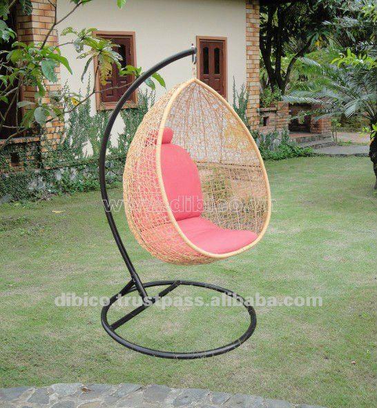 Nuevo modelo de sillas colgantes precioso swing sillas - Sillas colgantes del techo ...