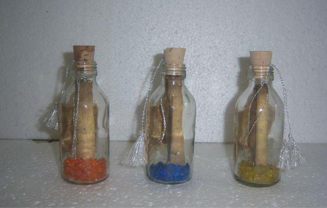 Invitaciones de boda en botellas de vidrio - Imagui