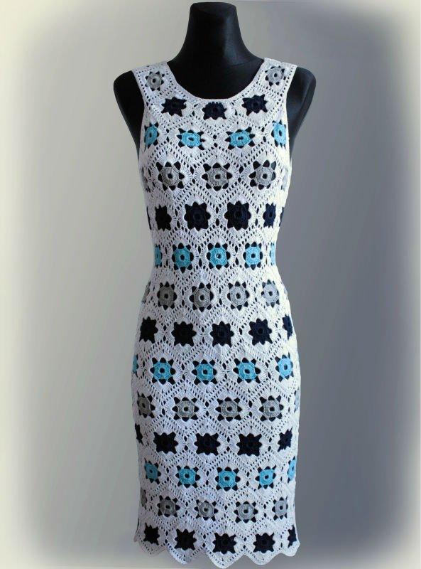 Patrones de vestidos de ganchillo gratis - Imagui