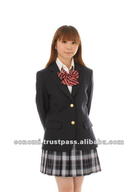 Girl Japanese School Uniforms Blazer