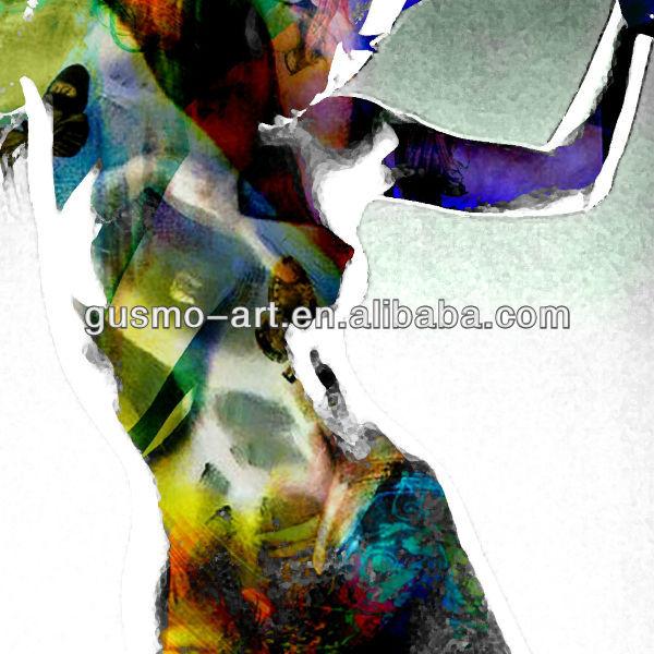 Dan A Moderna Mulheres Nuas Pintura Nu Art Stico E