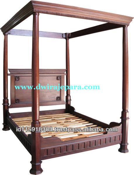 Muebles cl sicos antiguos de la reproducci n de tudor for Muebles de indonesia