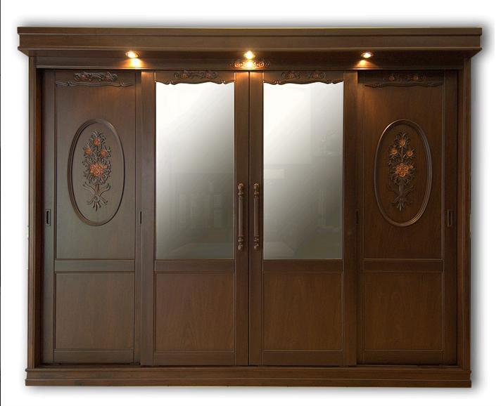 De lujo de madera de teca armarios gabinetes roperos - Armarios de lujo ...