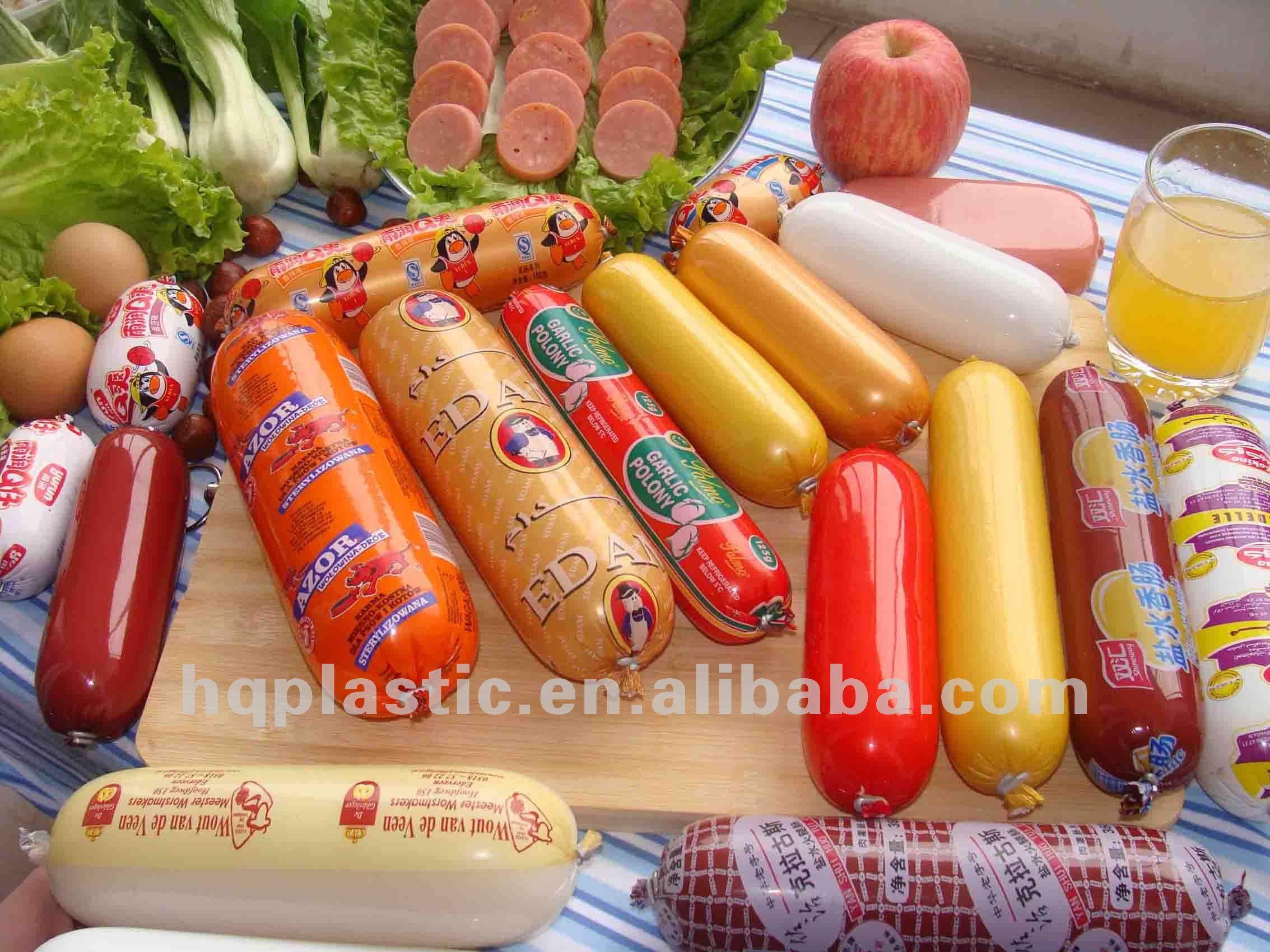 بلاستيكية لتغليف المواد الغذائية