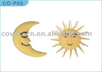 Moon Pvc Ornament