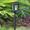 Solar Plastic Lawn Light
