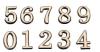 Plastic Number &Amp; Letters