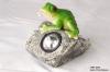 Frog Standing Stone  Solar Spot Light