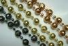 Mardi Gras Bead-Facet Sphere