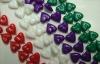 Mardi Gras Bead-12*12Mm Heart