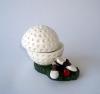 Polyresin Golf Ball Jewelry Box