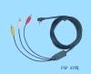 Ypp2-C02 Composite Av Cable For Psp 2000