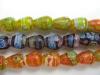 Millefiori Glass Beads-8*10Mm
