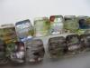 Millefiori Glass Beads-10Mm Cube