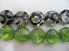 Millefiori Glass Beads-12Mm Flat Round
