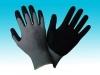 13G Gray Nylon Gloves With Black Nitrile Coating