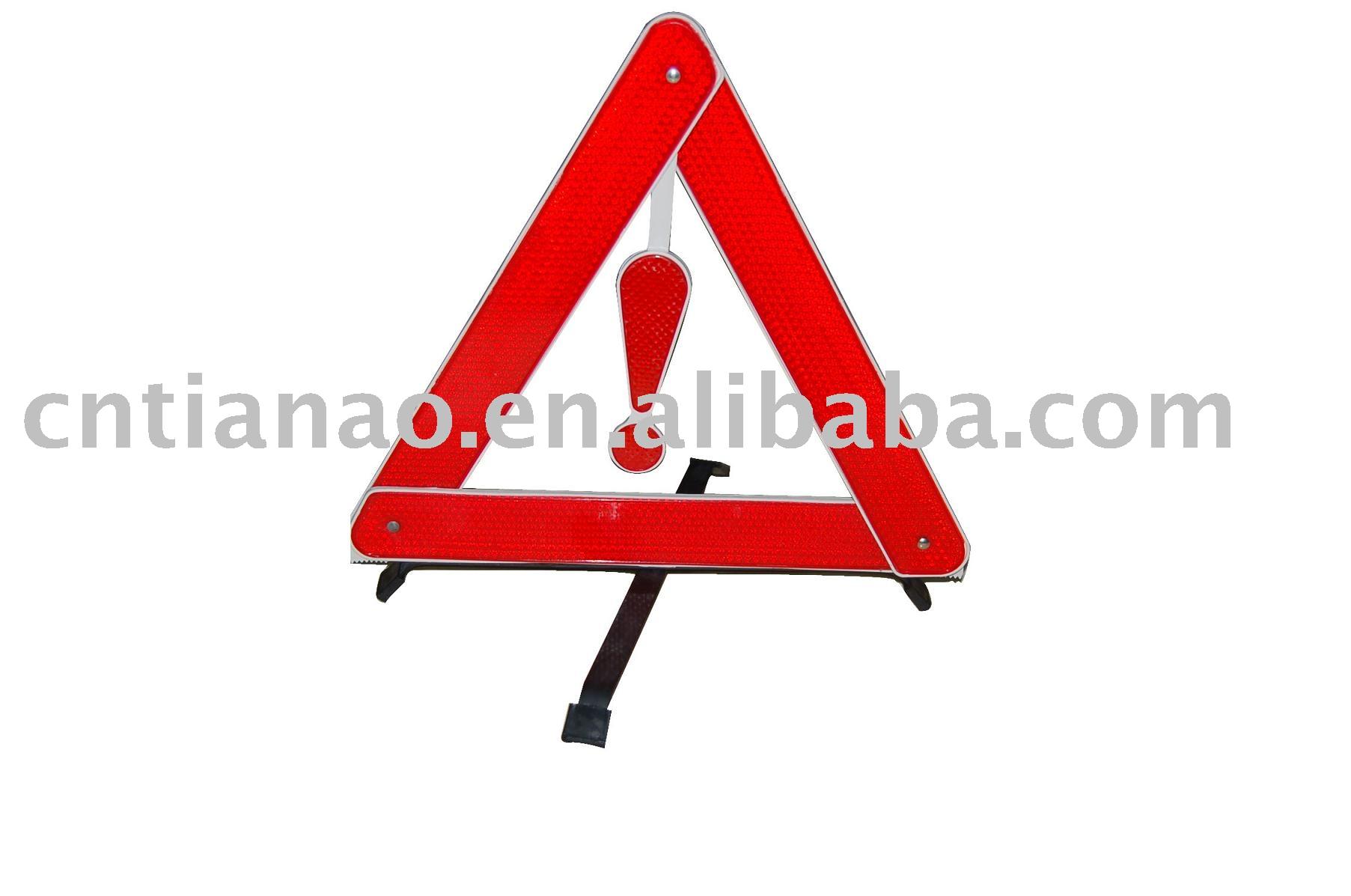 Triangle Warning Plate
